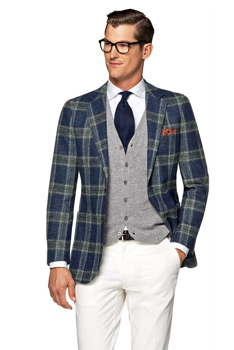 Jackets_Blue_Check_Havana_C1018_Suitsupply_Online_Store_1