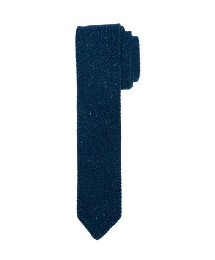welniany-krawat-knit-w-kolorze-granatowego-melanzu-z-dodatkiem-jedwabiu