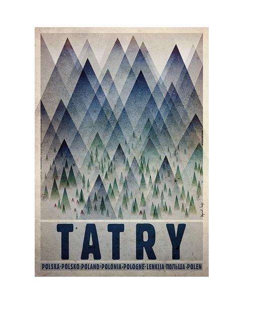 Plakat Tatry Ryszard Kaja Poleca Mr Vintage Rzeczowo O