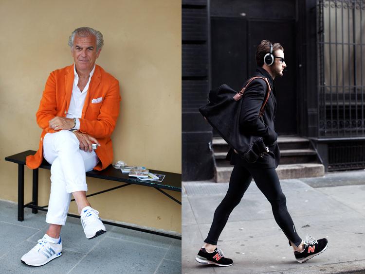 6fe8bf51abc08a Buty sportowe, spodnie do biegania i jakaś kurtko-marynarka, koszula, torba  i oczywiście słuchawki.. Proszę.