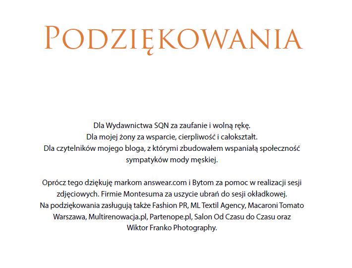 MrVintage pl Książka Rzeczowo o modzie męskiej 4