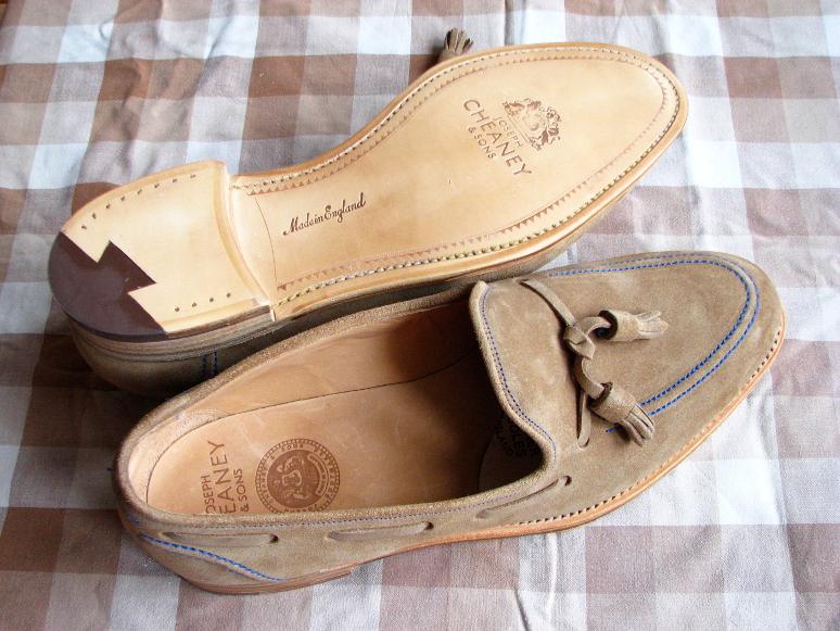 MrVintage Malowanie butów zamszowych 1