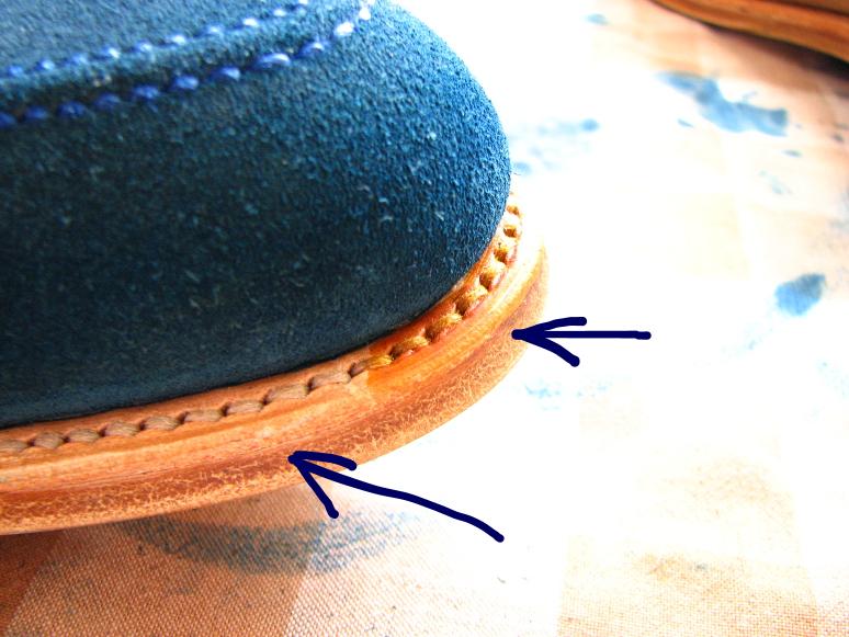 MrVintage Malowanie butów zamszowych 16