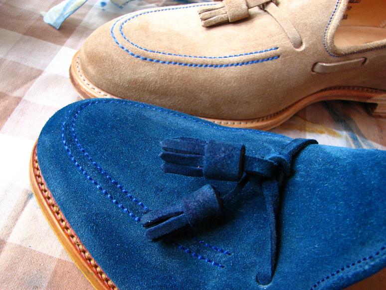 MrVintage Malowanie butów zamszowych 19