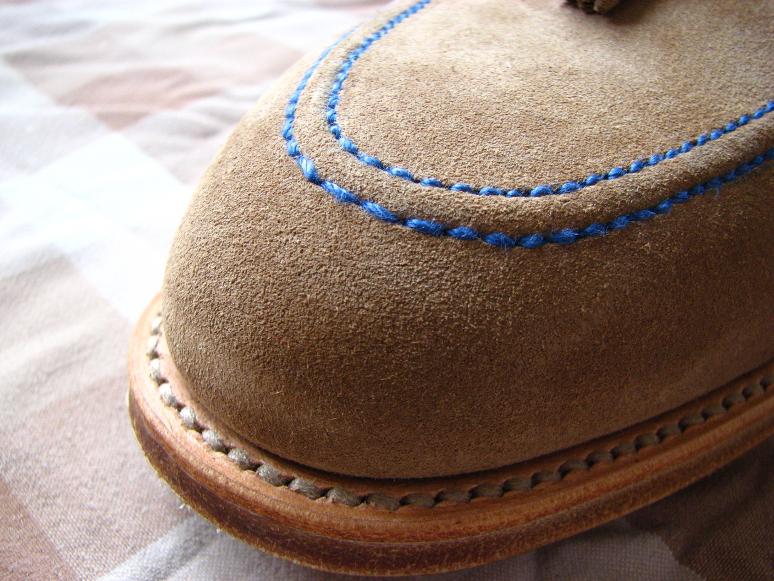 MrVintage Malowanie butów zamszowych 3