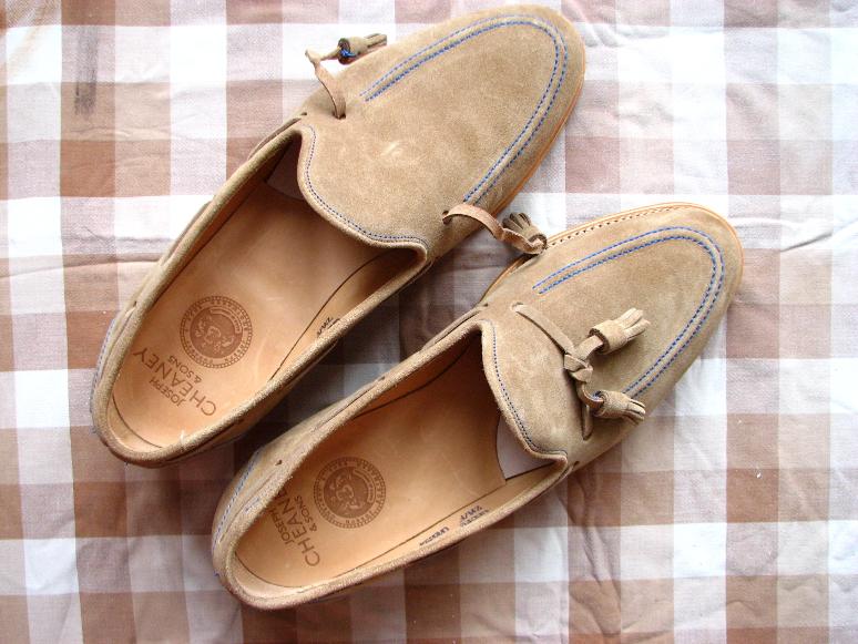 MrVintage Malowanie butów zamszowych 4