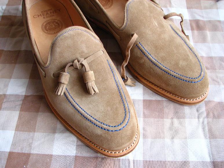 MrVintage Malowanie butów zamszowych 5