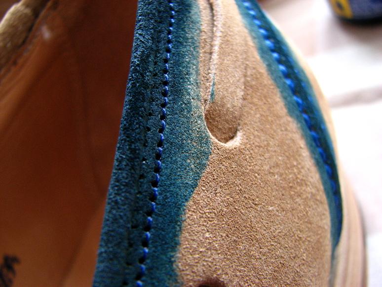 MrVintage Malowanie butów zamszowych 9