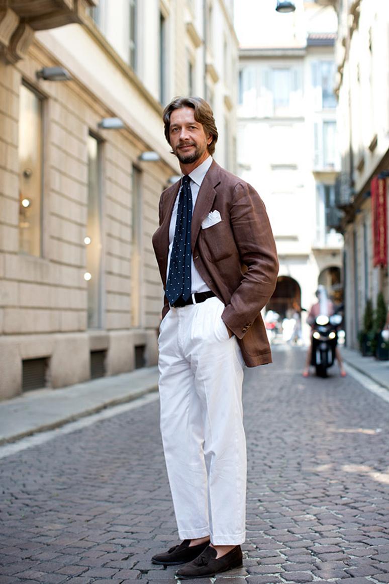 Białe Spodnie Na Cztery Sposoby Mr Vintage Rzeczowo O