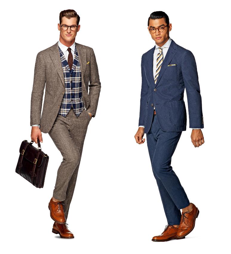 1266cf54bc78c Koniakowe brogsy – najbardziej uniwersalne buty męskie? | Mr Vintage ...