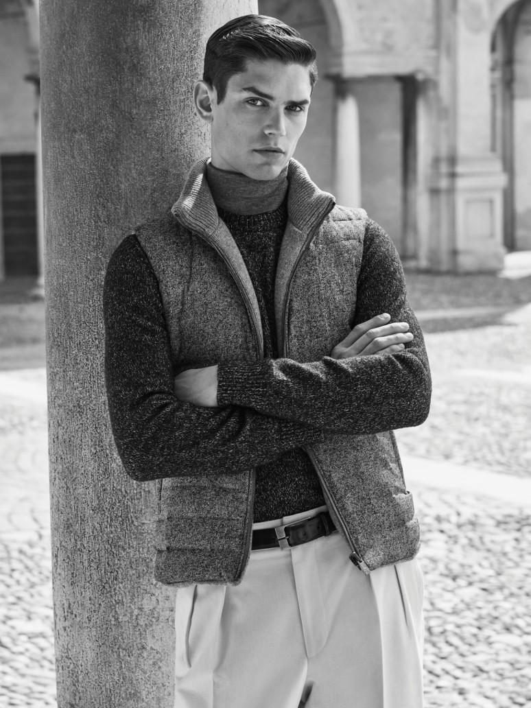 Corneliani waistcoat-man-reversible-FW15