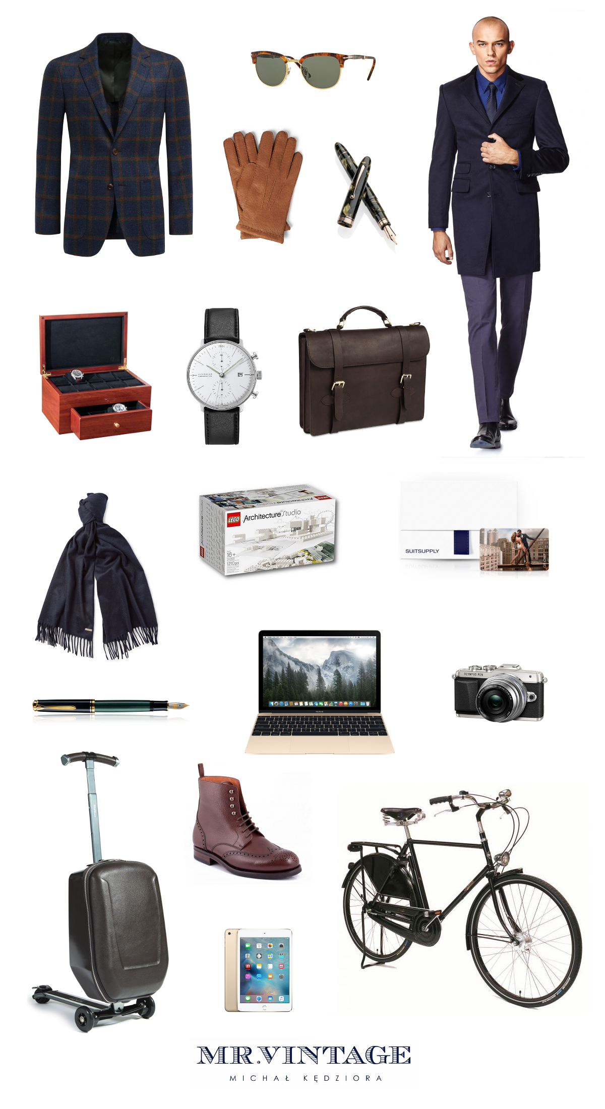cb9abf778b24e8 155 pomysłów na stylowy prezent dla mężczyzny | Mr Vintage ...