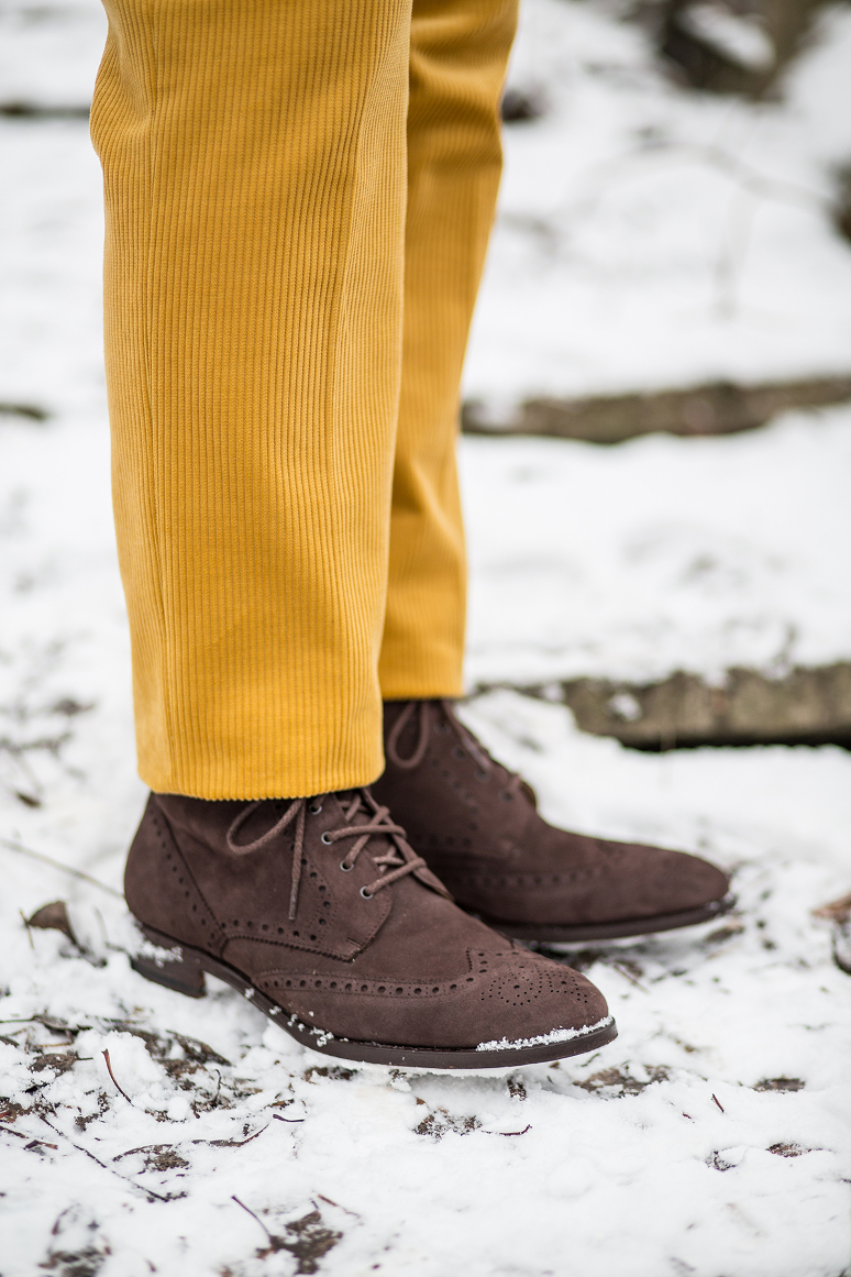 Buty do sztruksów