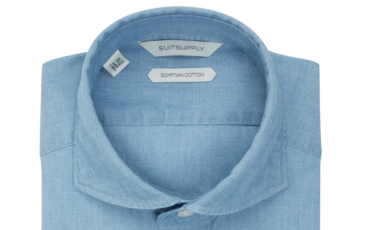 Shirts_Blue_Plain_Single_Cuff_H4899_Suitsupply_Online_Store_1