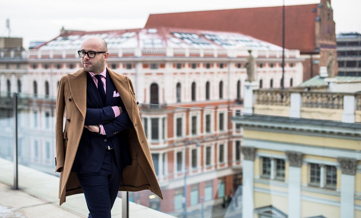 f807ec19df183 #NoszoneOcenione – włoski płaszcz Tagliatore | Mr Vintage - rzeczowo o  modzie męskiej - Porady i Blog