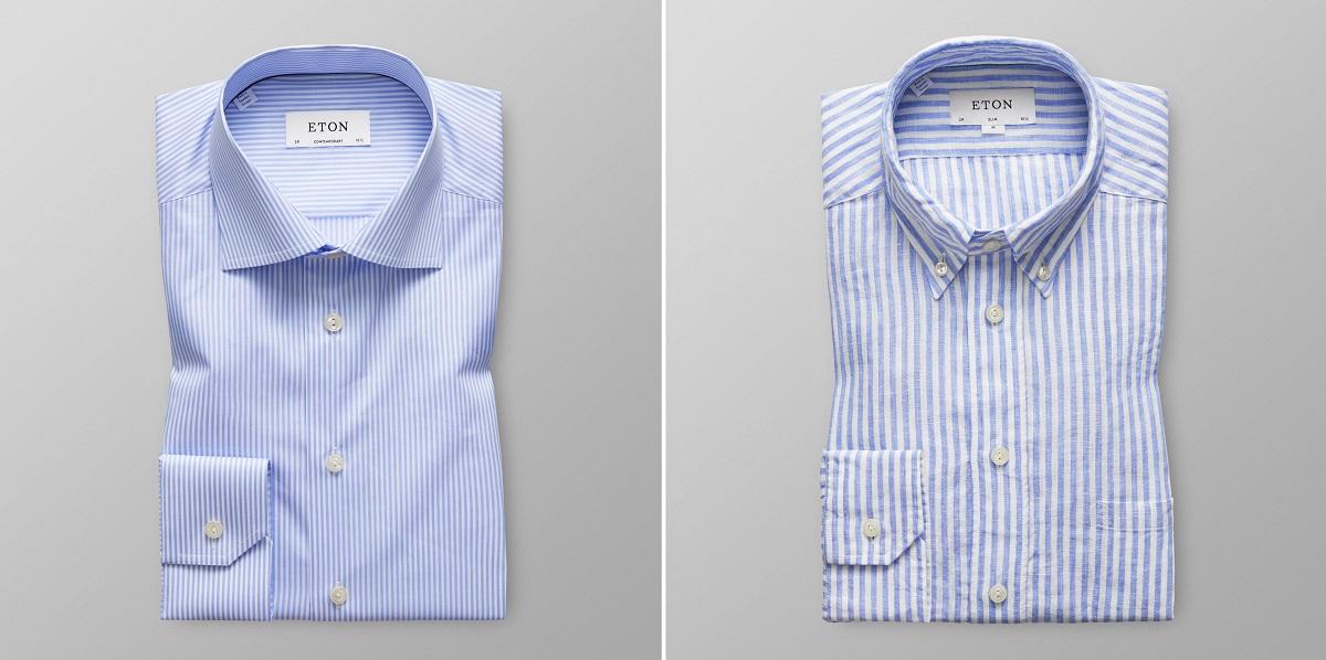 Koszula w prążek niekoniecznie biznesowa | Mr Vintage
