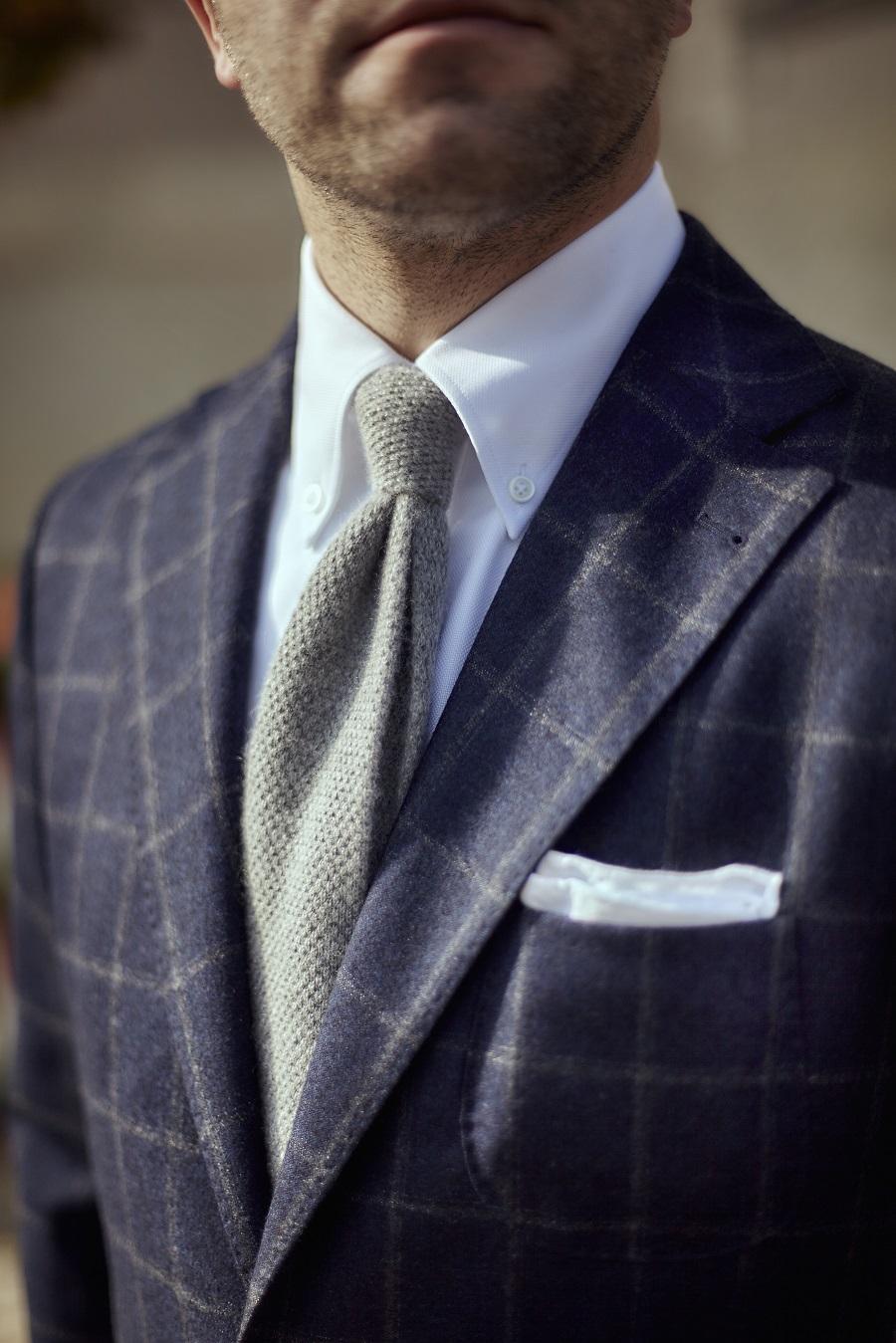 cd56cb658124c Kołnierz z guziczkami i krawat to błąd. Prawda czy mit?   Mr Vintage -  rzeczowo o modzie męskiej - Porady i Blog